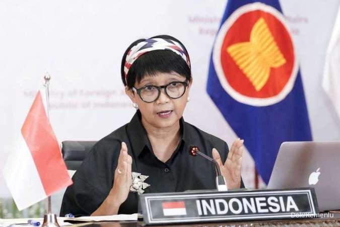 Kasus Covid-19 landai, Menlu berharap negara lain hapus Indonesia dari red list