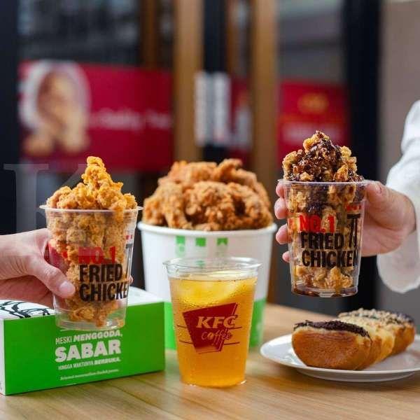 Cek promo KFC hari ini 12 Mei 2021, 4 potong chicken strip mulai Rp 29.091 saja!