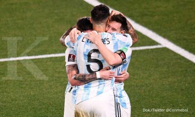 Argentina vs Uruguay di Kualifikasi Piala Dunia 2022: Albiceleste tekuk La Celeste 3-0