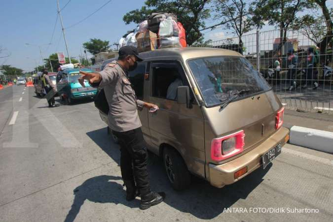 Menko Airlangga sebut ada 1,5 juta masyarakat memaksa mudik Lebaran