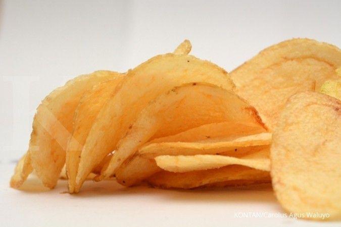 Keripik Kentang menjadi salah satu makanan penyebab perut buncit