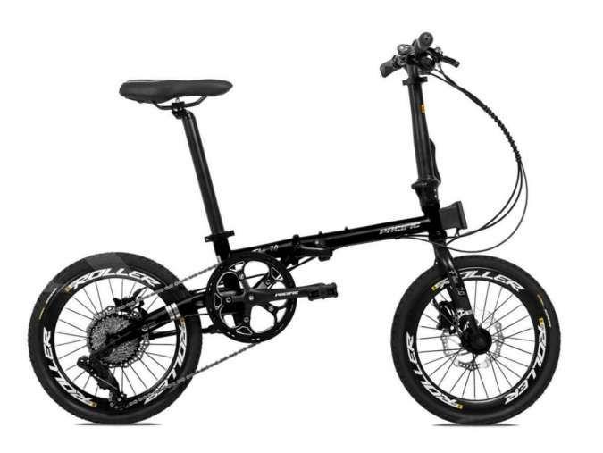 Baru dirilis, harga sepeda lipat Pacific Flux 7.0 dipatok murah