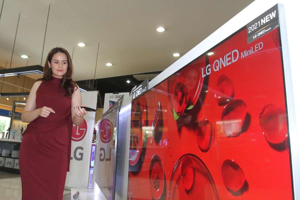 Pemasaran TV premium LG terbaru