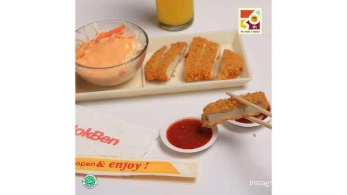 Promo HokBen hari ini 9 Juni 2021, ada menu Rabu Rp 20.000!