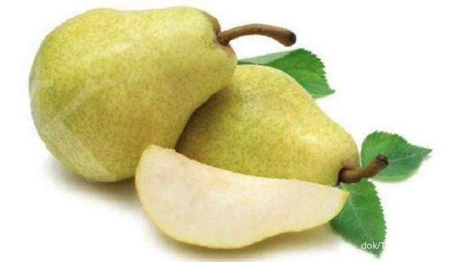 5 Manfaat buah pir untuk kesehatan: melancarkan pencernaan sampai mengobati diabetes