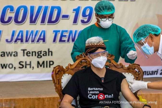 Vaksinasi gelombang II dimulai, Ganjar targetkan 1.000 orang divaksin setiap hari