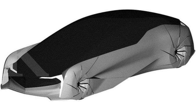 Gambar Paten Mobil Honda jenis Grand Tourer