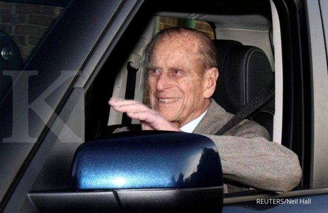 Berusia 99 tahun, Pangeran Philip dari Inggris dirawat di rumah sakit