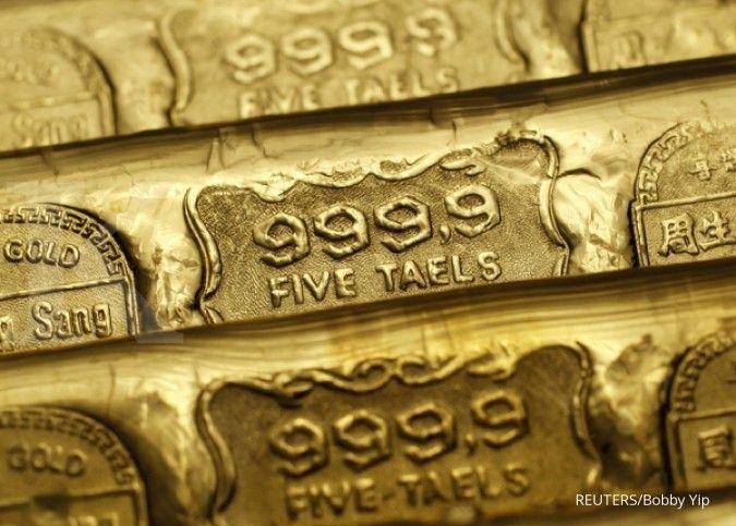 Good! Harga emas spot melonjak 1%, menembus level US$ 1.900 per ons troi