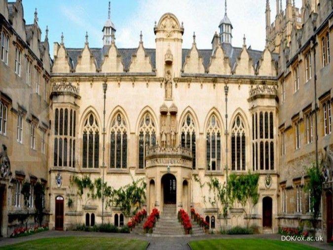 Ingin kuliah di Oxford University? Ada beasiswa untuk jenjang S2 yang bisa dicoba