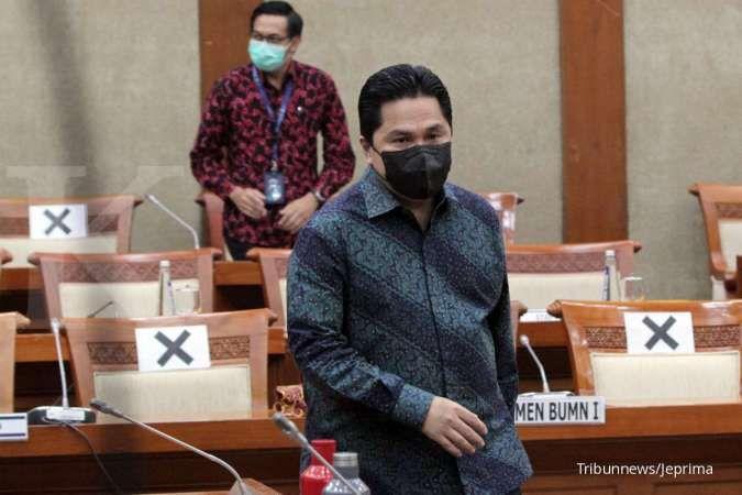 Dua direksi PT KAI resmi diberhentikan Erick Thohir