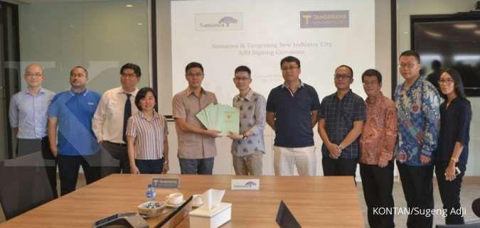 CFLD kerjasama dengan Samanea bangun pusat perbelanjaan di Tangerang