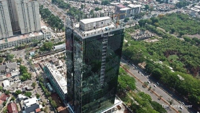 Proyek perkantoran Citra Tower akan beroperasi kuartal I-2019