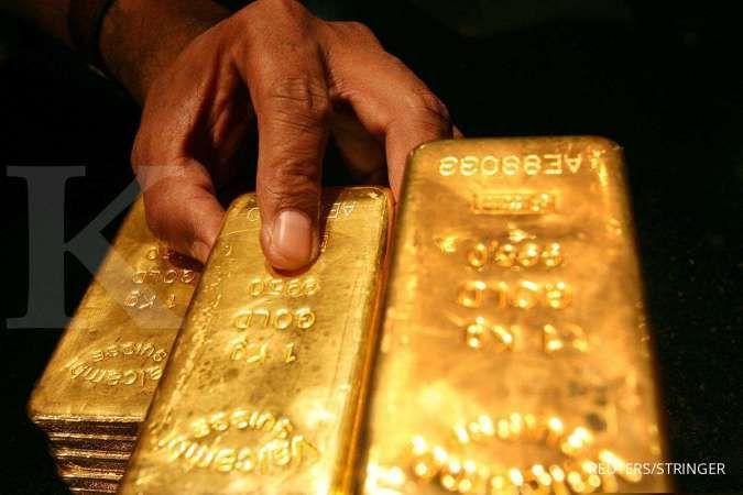 Harga emas kontrak