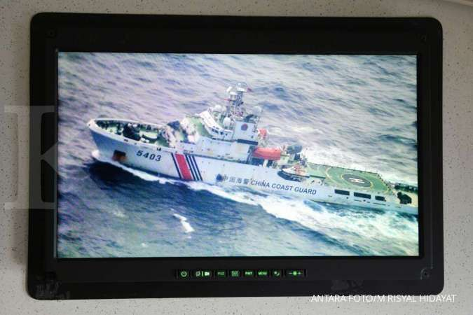 TNI AL gelar latihan di Laut Natuna Selatan, kerahkan 9 kapal dan 1 pesawat