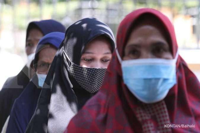 Data Corona Indonesia, Senin (2/8): Tambah 22.404, total ada 3.462.800 kasus positif