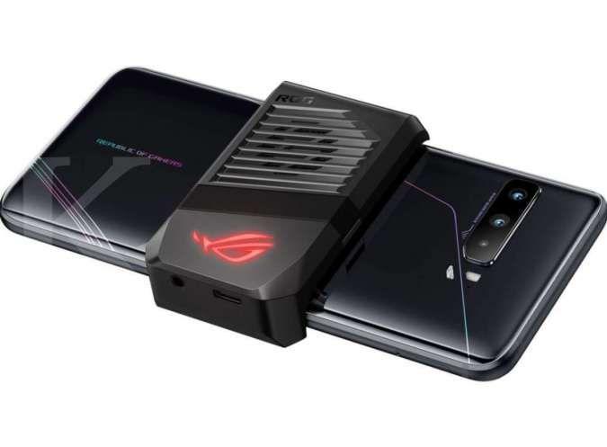 Aksesoris Aeroactive Cooler III yang melengkapi ASUS ROG Phone 3