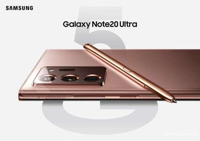 Pakai prosesor cepat dan memori besar, Samsung Galaxy Note20 Ultra siap kerja keras