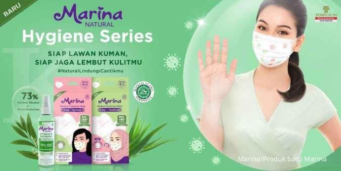 Perkenalkan produk anyar, Marina luncurkan hand sanitizer dan medical protective mask