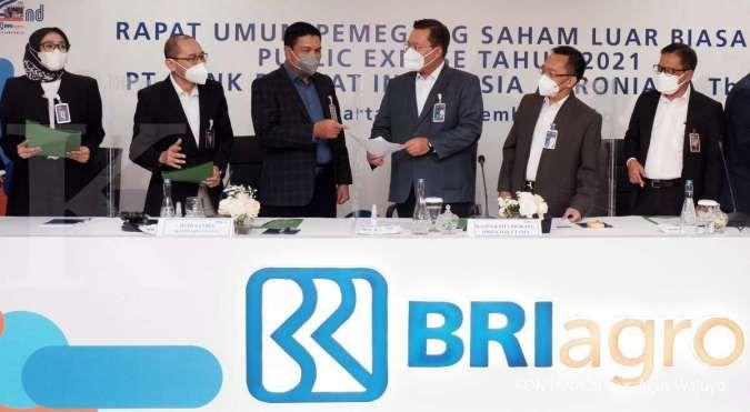 Jadi bank digital, BRI Agro (AGRO) ganti nama menjadi Bank Raya