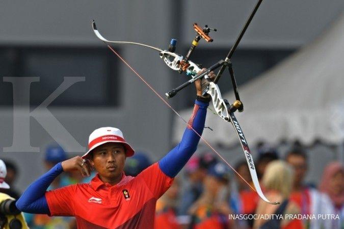 Tim panahan beregu campuran Indonesia gagal melaju ke semifinal Olimpiade Tokyo 2020