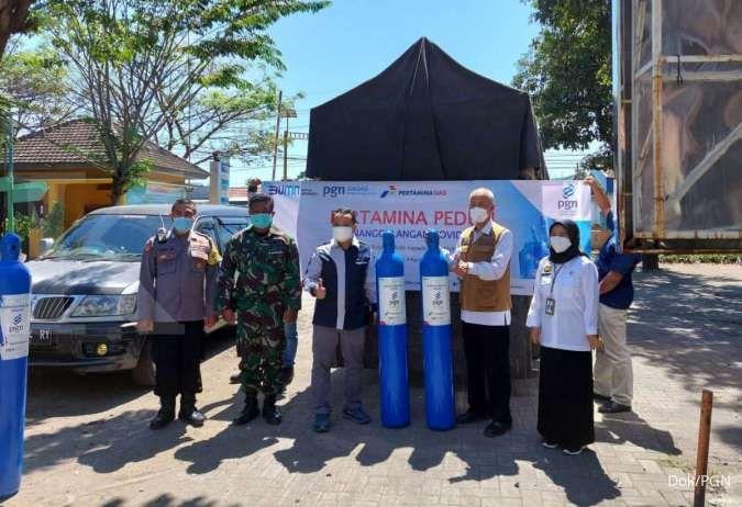 PGN salurkan 50 tabung oksigen untuk rumah sakit di Probolinggo