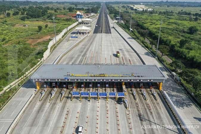 Lebaran hari pertama, kendaraan yang meninggalkan Jakarta turun 81%