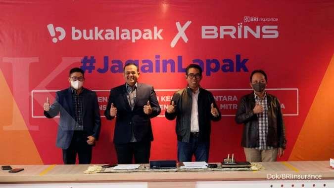 BRINS beri proteksi untuk 8,5 juta mitra Bukalapak
