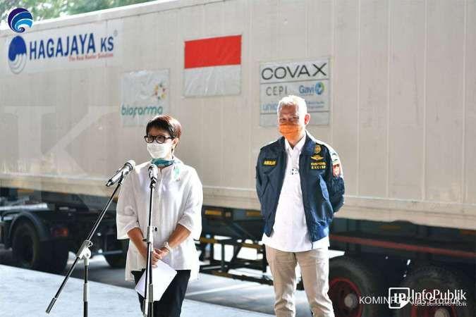 Perkuat komitmen multilateral,COVAX Facility kembali kirimkan 1,39 juta dosis vaksin