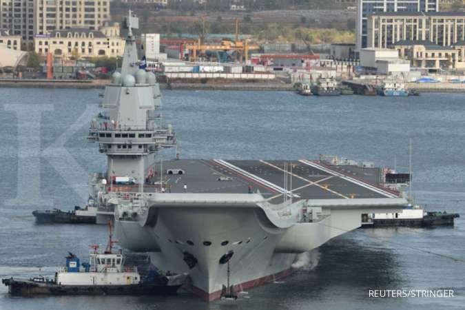 Kapal perang China tembakkan laser ke pesawat pengintai AS, militer AS meradang