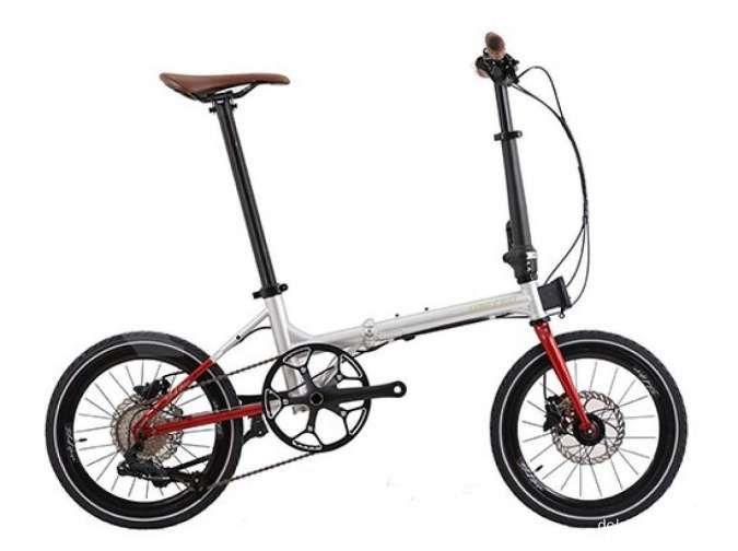 Sepeda lipat United Black Horse X Janji Jiwa