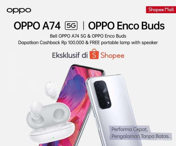 OPPO lengkapi jajaran ponsel 5G dengan beragam fitur
