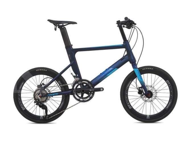 Memiliki performa handal, harga sepeda mini velo Pacific Clash 5.0 terjangkau