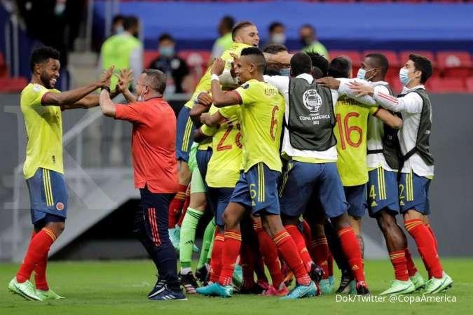 Kolombia vs Peru di Copa America 2021: Los Cafeteros siap balas La Rojiblanca