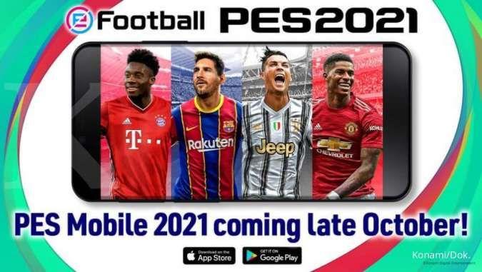 4 Bintang sepak bola ini jadi cover utama game PES 2021, rilis akhir Oktober