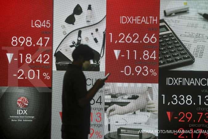 IHSG melemah tiga hari hingga Selasa (13/4), asing catat net sell selama 10 hari