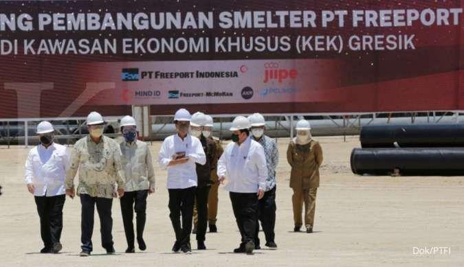 Komitmen Freeport membangun smelter sesuai kesepakatan divestasi tahun 2018