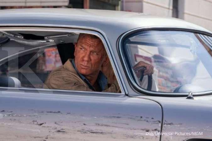 Film No Time To Die dibintangi Daniel Craig bantah akan dirilis di layanan menonton streaming.