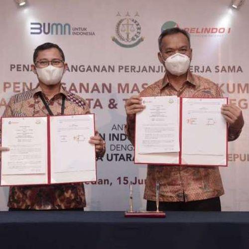 Sinergi Pelindo 1 - Kejati Optimalkan Penanganan Hukum Bidang Perdata & Tata Usaha Negara