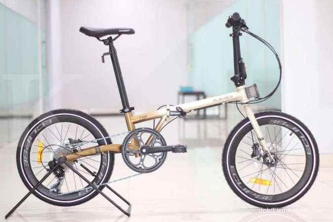 Ramping, harga sepeda lipat Element Clip pas di kantong