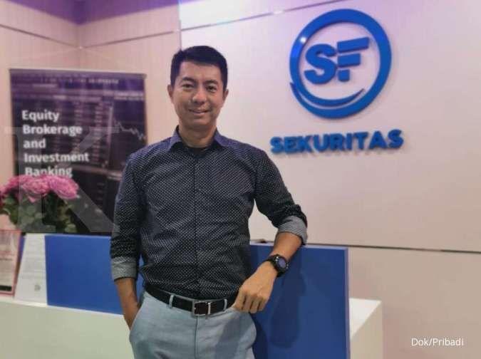 Begini kriteria saham pilihan Presiden Direktur Surya Fajar Sekuritas Steffen Fang