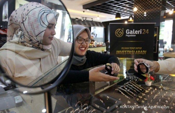 Anak usaha Pegadaian bidik penjualan emas 5,2 ton tahun ini