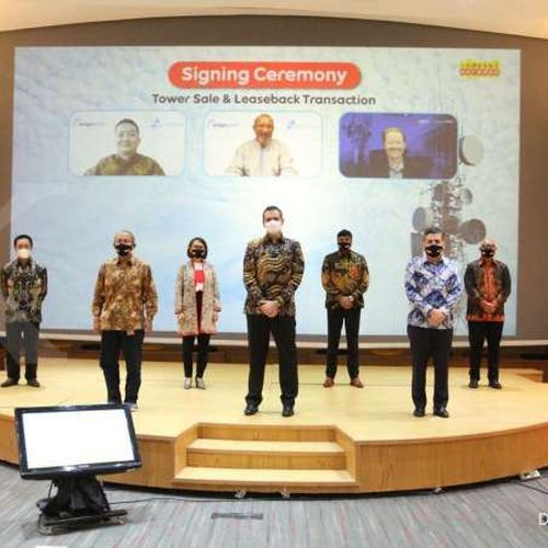 Indosat Ooredoo Umumkan Kesepakatan Senilai USD 750 Juta untuk Penjualan Lebih dari 4.200 Menara