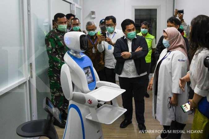 Satgas Tanggap Covid-19 BUMN salurkan bantuan ke rumah sakit di Jatim