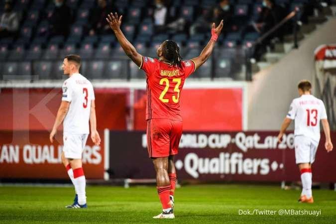 Belgia vs Belarus: Permalukan White Wings, Setan Merah pesta gol 8-0