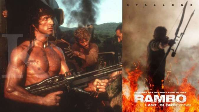Rambo: Last Blood, aksi laga Sylvester Stallone dijadwalkan tayang September