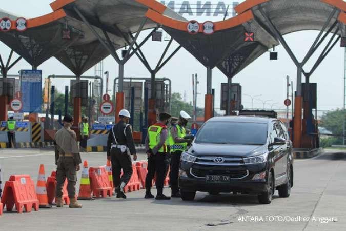 GT Palimanan dilintasi hanya 9.781 kendaraan pada hari pertama Lebaran