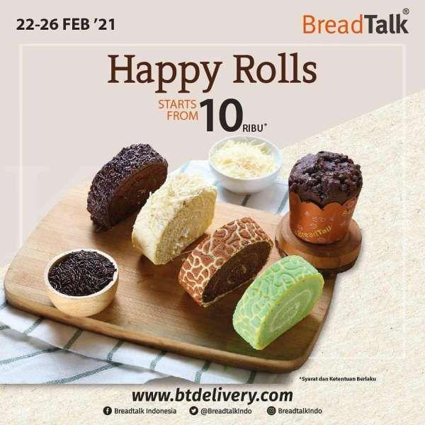 Promo BreadTalk 22-26 Februari 2021