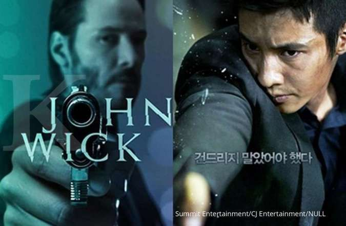 Sutradara dan penulis John Wick garap remake film The Man From Nowhere Won Bin