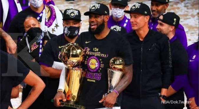 LA Lakers 17 kali juara NBA, ini daftar juara NBA sepanjang sejarah